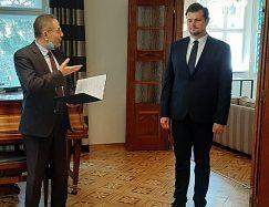 Príhovor pána veľvyslanca Francúzskej republiky J. E. Christophe Léonzi