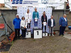 Dagmar Tomková 3. miesto na 200 m