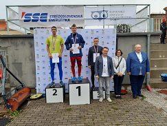 Miroslav Marček 2. miesto na 200 m