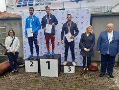 Štefan Sedlák 3 miesto na 110 m prekážky