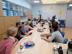 Prezentácia proektu JaSom aktívu slovenských pedagógov na základnej škole v Báčskom Petrovci