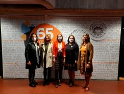 Účastníčky projektových stretnutí na Univerzite Nový Sad