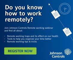 Webinár spoločnosti Johnson Controls