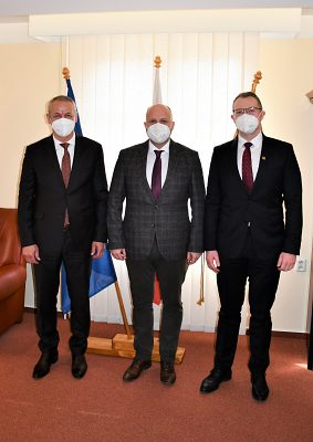 Minister obrany SR Jaroslav Naď na svojej alma mater