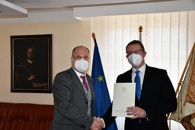 Návšteva štátneho tajomníka Dušana Veliča