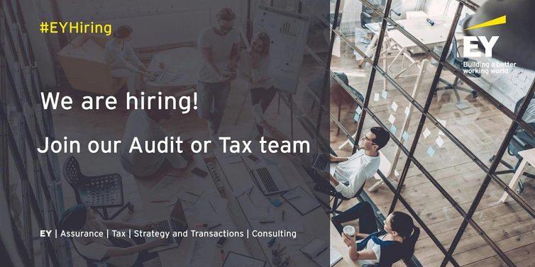 Pridaj sa do tímu audítorov v EY
