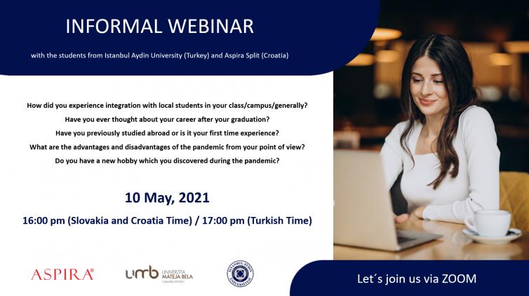 Webinar for International Students