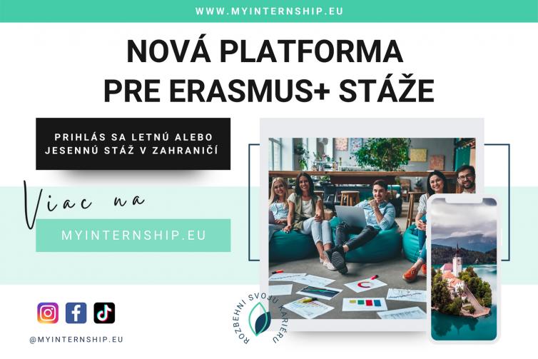 Ponuka Erasmus+ stáží