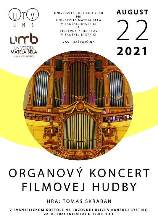 Organový koncert filmovej hudby