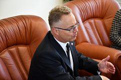 Veľvyslanec Nigel Baker na pôde UMB