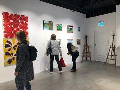 Výstava obrazov v OC Point
