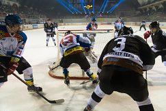 UMB hokejový tím úspešný proti tímu Technika Praha