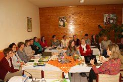 Účastníci kurzu zo slovenských škôl v severných oblastiach Maďarska
