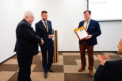 Ocenenie pre Ing. Bohuslava Martiška, CSc.