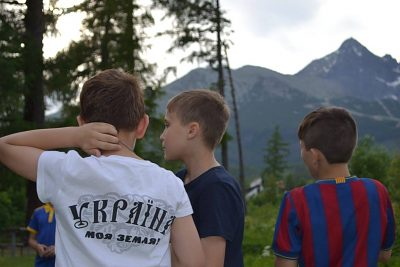 Ozdravný tábor Ukrajina 2016