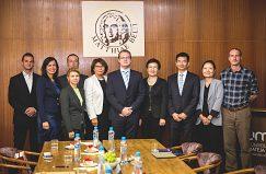 Návšteva z partnerskej univerzity Dongbei University of Finance and Economics (DUFE)