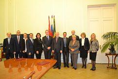Delegácia UMB v Petrohrade