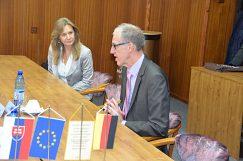 Návšteva veľvyslanca Nemeckej republiky