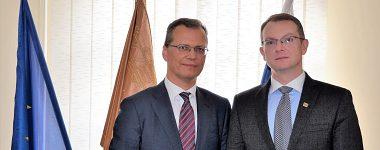 Návšteva veľvyslanca Kzysztofa Strzalku