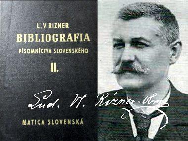 170 rokov od narodenia Ľudovíta Vladimíra Riznera