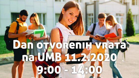 Dan otvorenih vrata na UMB