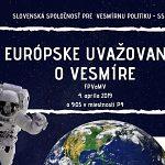 Európske uvažovanie o vesmíre