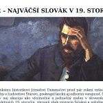 Štúr – najväčší Slovák v 19. storočí?