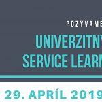 Univerzitný deň service learningu