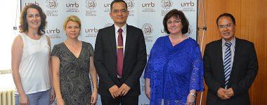 Zahraničná návšteva z Universiti Teknologi MARA v Malajzii