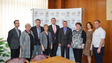 Прием делегации из Сургутского государственного педагогического университета