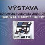 Výstava spoločnosti SLOVART G.T.G. - EKONOMIKA, CESTOVNÝ RUCH 2019