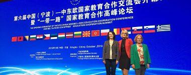 UMB na medzinárodnej konferencii o spolupráci vo vzdelávaní v Ningbo, Čína