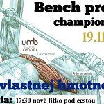 Bench press championship UMB 2019