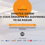 Analýza zistení o stave školstva na Slovensku TO DÁ ROZUM