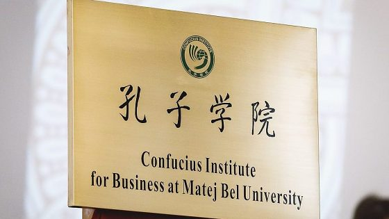 Konfuciov inštitút pre obchod pri Univerzite Mateja Bela