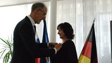 Prezident Spolkovej republiky Nemecko udelil ocenenie