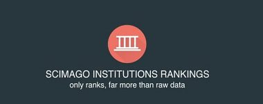UMB is on the ninth place among the Scimago Institutions Rankings