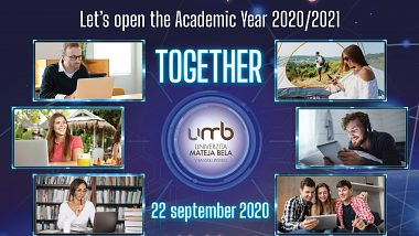 Let's open the Academic Year 2020/2021 together