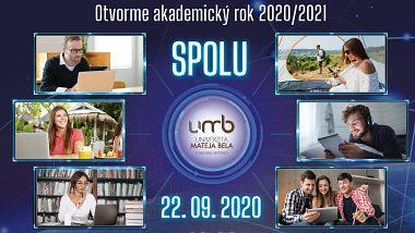 Slávnostné otvorenie AR 2020/2021