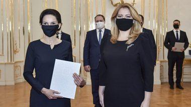 Prezidentka Čaputová  vymenovala nových profesorov