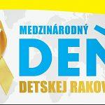 Medzinárodný deň detskej rakoviny -  pripnime si zlatú stužku