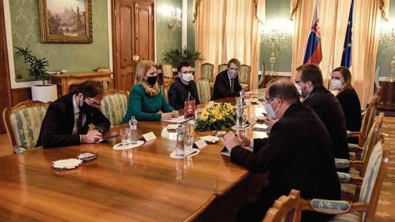 Prezidentka hovorila s rektormi o zákone o vysokých školách 4. 3. 2021