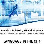 Jazyk v meste