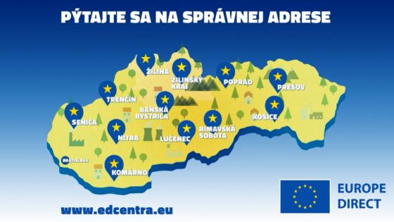 Európska komisia spúšťa 424 nových centier EUROPE DIRECT