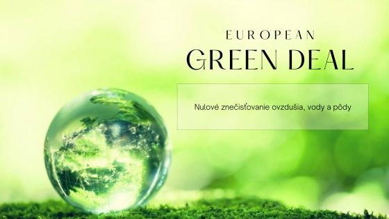Európska zelená dohoda (European Green Deal)