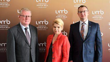 Prijatie veľvyslanca Ruskej federácie na pôde UMB