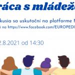 Online diskusia pri príležitosti Medzinárodného dňa mládeže