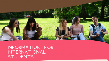 Instructions for the international students