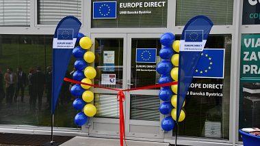 Slávnostné otvorenie Europe Direct UMB Banská Bystrica
