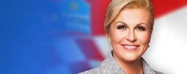 Udelenie čestného titulu Dr.h.c. prezidentke Chorvátskej republiky, J. E. Kolinde Grabar-Kitarović
